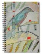Bluebird Of Spiral Notebook