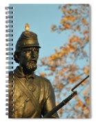 Bluebirds And Minnesota Spiral Notebook