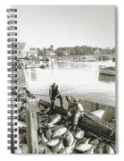 Bluefin Tuna At Barnstable Harbor Spiral Notebook