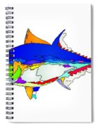 Bluefin Tuna  Spiral Notebook