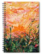 Bluegrass Sunrise - Desert A-left Spiral Notebook