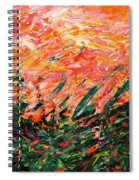 Bluegrass Sunrise - Desert B-right Spiral Notebook
