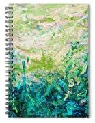 Bluegrass Sunrise - Jade A-left Spiral Notebook
