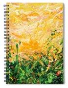 Bluegrass Sunrise - Lemon A-left Spiral Notebook