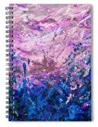 Bluegrass Sunrise - Midnight A-left Spiral Notebook