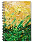 Bluegrass Sunrise - Olive B-right Spiral Notebook