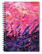 Bluegrass Sunrise - Rose B-right Spiral Notebook