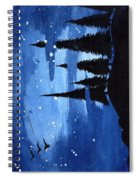 Bluenight Spiral Notebook
