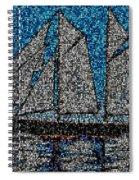 Bluenose II Spiral Notebook