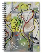 Blues And Rock Spiral Notebook