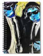Blues Brothers Spiral Notebook
