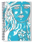 Blues Girl Spiral Notebook