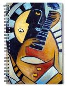 Blues Guitar Spiral Notebook