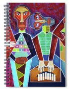 Blues Music Spiral Notebook