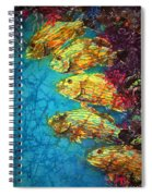 Bluestriped Grunts Spiral Notebook