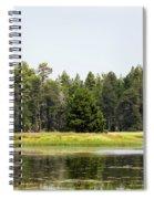 Bluff Lake Ca Island 3 Spiral Notebook