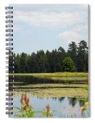 Bluff Lake Ca Wild Flowers 11 Spiral Notebook