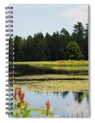 Bluff Lake Ca Wild Flowers 12 Spiral Notebook