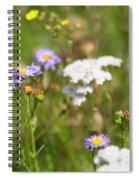 Bluff Lake Ca Wild Flowers 6 Spiral Notebook