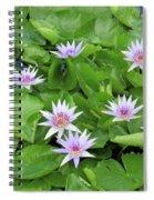 Blumen Des Wassers - Flowers Of The Water 22 Spiral Notebook