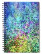 Blurred Garden 4798 Idp_2 Spiral Notebook