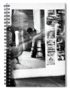 Blurred Training Spiral Notebook