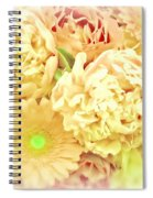 Blush Floral Bouquet Spiral Notebook
