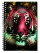 Blushing Tiger Spiral Notebook
