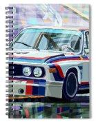 Bmw 3 0 Csl 1st Spa 24hrs 1973 Quester Hezemans Spiral Notebook