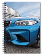 Bmw M2 Coupe Spiral Notebook