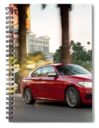 Bmw M235i Coupe Spiral Notebook