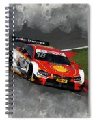 B M W Racing Spiral Notebook
