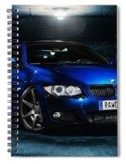 Bmw Series 3 Spiral Notebook