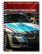Bmw Z4 E86 Art Car Spiral Notebook