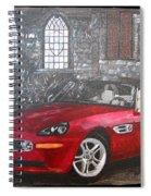 Bmw Z8 Spiral Notebook