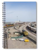 Bnsf Northtown Yard 4 Spiral Notebook