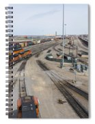 Bnsf Northtown Yard 6 Spiral Notebook