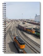 Bnsf Northtown Yard 8 Spiral Notebook