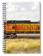 Bnsf Railway Engine Spiral Notebook