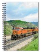 Bnsf7492 3 Spiral Notebook