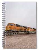 Bnsf8211 Spiral Notebook
