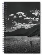 Bnw Lago De Coatepeque - El Salvador V Spiral Notebook