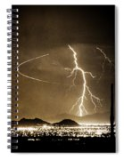 Bo Trek Lightning Art Spiral Notebook
