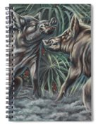 Boar Room Brawl Spiral Notebook