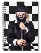Board Member With Tactical Strategy Game Plan Spiral Notebook