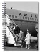 Boarding American Airlines Spiral Notebook