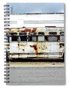 Boarding In Five Spiral Notebook
