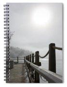 Boardwalk Dawn Spiral Notebook