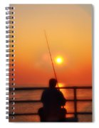 Boardwalk Fishing Spiral Notebook