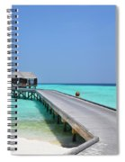 Boardwalk In Paradise Spiral Notebook